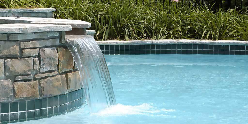 custom pool waterfalls